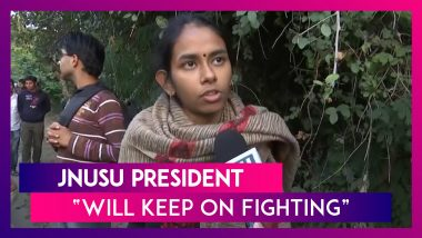 JNU Protest: Will Keep On Fighting Till We Achieve Fee Hike Rollback Says JNUSU President